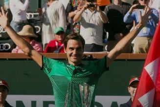 Roger Federer e marele campion de la Indian Wells
