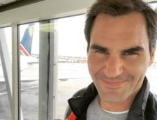 Roger Federer ii da o veste proasta lui Ion Tiriac