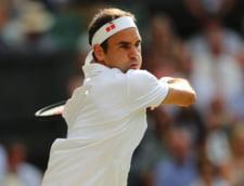 Roger Federer il invinge pe Rafa Nadal si se califica in finala de la Wimbledon