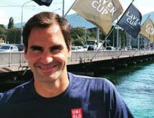 Roger Federer il pune la punct pe Gerard Pique