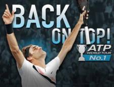Roger Federer revine pe locul 1 ATP: Iata ce recorduri doboara legendarul elvetian