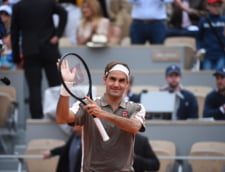 Roger Federer s-a intors la Roland Garros dupa patru ani, in stil de mare campion
