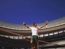 Roger Federer s-a intors la antrenamente, dupa operatiile la genunchi