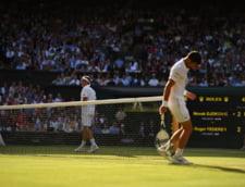 """Roger Federer se inclina in fata lui Nole Djokovici dupa o finala de vis: """"Felicitari, omule! A fost o nebunie!"""""""