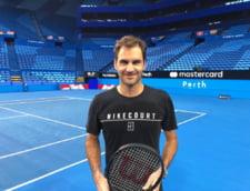 Roger Federer va incepe sezonul 2018 in Cupa Hopman, in echipa Elvetiei