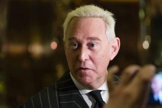 Roger Stone, aliatul lui Trump arestat vineri de FBI, a fost eliberat pe cautiune UPDATE