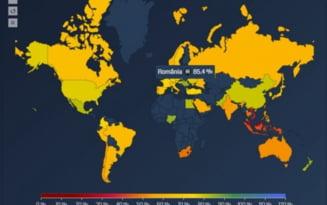 România, cea mai relaxată ţară din lume în fața restricțiilor impuse în pandemie. Suntem urmați de Nigeria în topul mondial ANALIZĂ
