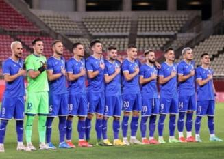 România, umilită de Coreea de Sud în al doilea meci al tricolorilor la JO 2020. Echipa lui Rădoi e pe ultimul loc. Calculele calificării s-au complicat