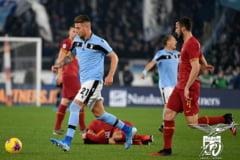 Roma si Lazio, egal cu Stefan Radu pe teren, decis de doua gafe colosale ale portarilor (Video)