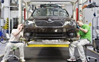 Romania, ''tinta'' pentru o fabrica Skoda - Sibiul pe lista grupului Volkswagen
