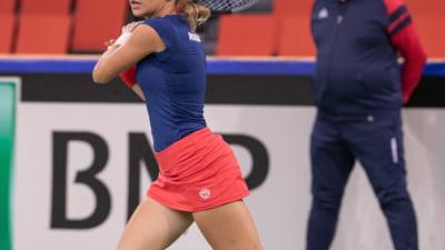 Romania, condusa de Italia in Fed Cup. Irina Bara, invinsa in primul meci