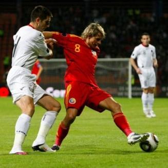 Romania, doar egal cu Albania in preliminariile Euro 2012