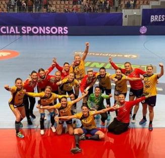 Romania, in fata primului meci decisiv de la Campionatul European de handbal