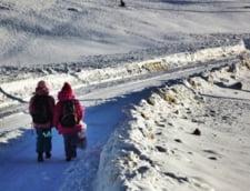 Romania, in zapada: 65 de scoli inchise, in judetul Vaslui