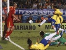 Romania, invinsa de Brazilia la retragerea lui Ronaldo