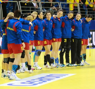 Romania Invinsa Germania Campionatul European Handbal Feminin