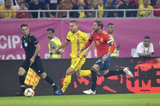 Romania, invinsa de Spania pe Arena Nationala