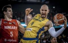 Romania, invinsa de Ungaria la Campionatul European de baschet de la Cluj