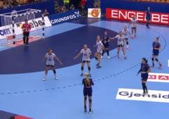 Romania, invinsa greu in primul meci de la Campionatul European de handbal