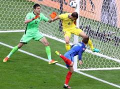 Romania, invinsa pe final de Franta in primul meci de la EURO 2016