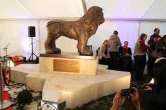 Romania 100 & Israel 70: Inaugurarea Pietei Leul Ierusalimului cu statuia omonima si a cladirii Academician Nicolae Cajal