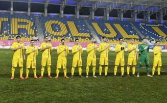 Romania U19 rateaza calificarea la Campionatul European dupa un gol primit in minutul 92