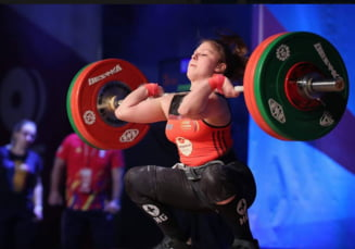 Romania a castigat medalie dupa medalie la Campionatele Mondiale de haltere
