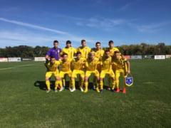 Romania a fost invinsa la limita de Spania, in preliminariile pentru Campionatul European U19