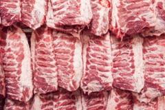 Romania a importat carne in valoare de circa 257 de milioane de euro numai in primul trimestru din acest an