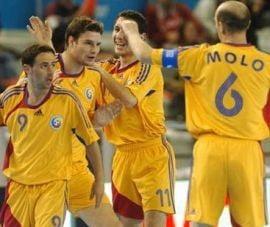 Romania a invins Olanda in preliminariile Campionatului European de futsal