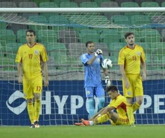 Romania a pierdut amicalul cu Slovenia