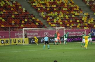 Romania a remizat cu Irlanda de Nord, la debutul lui Mirel Radoi pe banca tricolorilor
