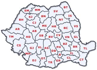 Romania ar putea fi impartita in sapte sau opt regiuni - Care sunt acestea