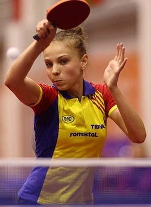 Romania are o noua campioana europeana la tenis de masa