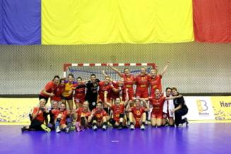 Romania castiga la Campionatul European dupa un meci aproape perfect