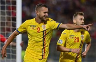 Romania castiga la scor in Malta in preliminariile pentru EURO 2020
