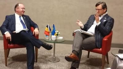 """Romania cere oficial Ucrainei sa recunoasca inexistenta """"limbii moldovenesti"""". Discutiile dintre cei doi ministri de Externe"""
