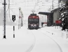 Romania in zapada: Trenuri anulate, drumuri blocate si scoli inchise