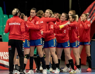 Romania intoarce rezultatul la pauza si invinge dramatic Polonia la Campionatul European de handbal feminin