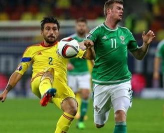 Romania invinge Irlanda de Nord si termina anul pe primul loc in preliminarii