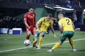 Romania invinge Lituania in prelungiri