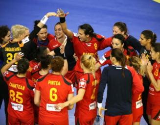 Romania invinge Polonia la Campionatul European de handbal
