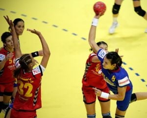 Romania invinge Spania la Campionatul European de handbal feminin