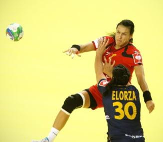Romania invinge Spania la Campionatul European de handbal
