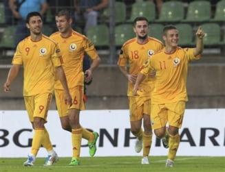Romania invinge in Luxemburg prin dubla lui Torje