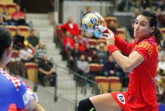 Romania invinge magnific Ungaria la Campionatul European de handbal feminin
