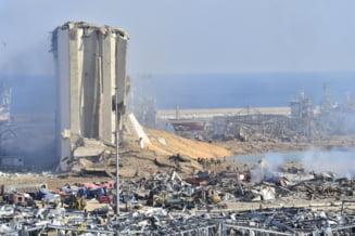 Romania ofera aproximativ opt tone de materiale medicale pentru gestionarea efectelor exploziei de la Beirut