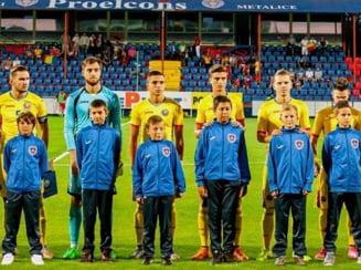 Romania pierde categoric meciul cu Danemarca de la tineret