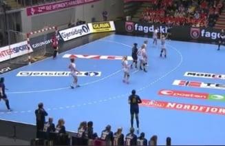Romania pierde clar meciul cu Norvegia de la Campionatul Mondial de handbal