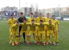 Romania pierde cu Ungaria si rateaza calificarea la Europenele Under 17